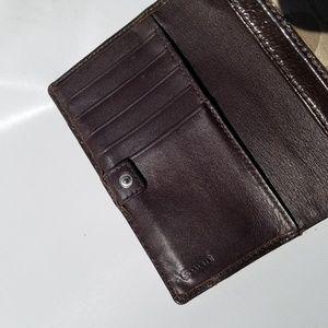 Coach Bags - Coach Bifold Brown Wallet